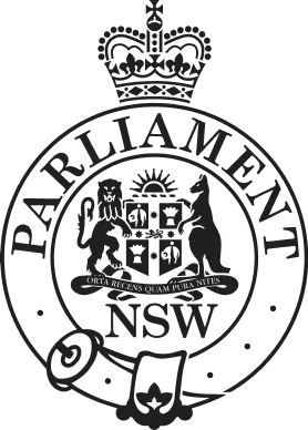 Parlianment of New South Wales badge