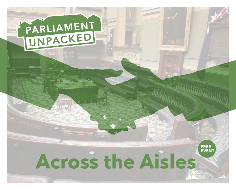Free Event: Parliament Unpacked – Across The Aisles