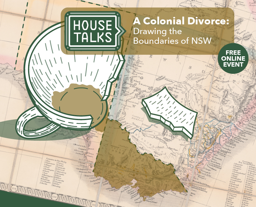 Free Online Event – A Colonial Divorce: Drawing the Boundaries of NSW